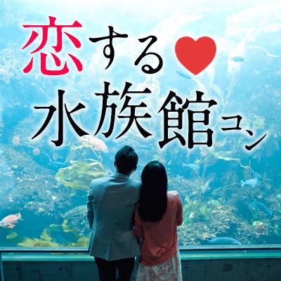 【品川】《水族館コン》アクアパーク品川を遊びつくせ!幻想空間で出逢う♡