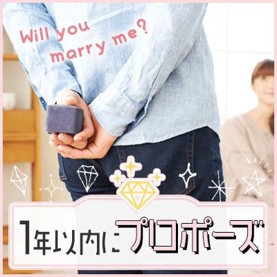 《20代男女♡同年代婚活》1年以内にプロポーズしたい!されたい!